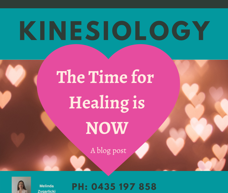 The Time for Healing is Now!
